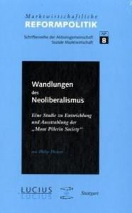 Cover Wandlungen des Neoliberalismus